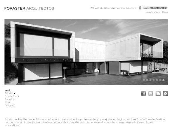Web Foraster Arquitectos 2