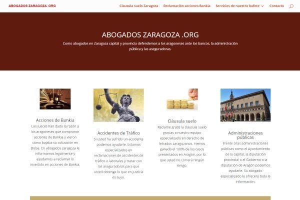 SEO Abogados en Zaragoza