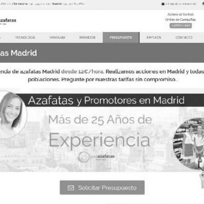 Azafatas eventos Madrid